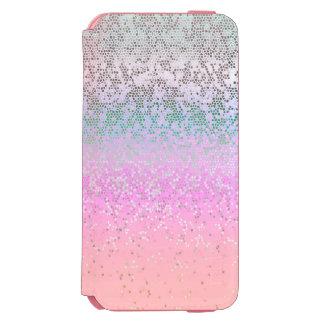 iPhone 6のウォレットケースのグリッターのスターダスト Incipio Watson™ iPhone 6 財布ケース