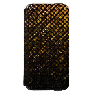 iPhone 6のウォレットケースの金ゴールド水晶きらきら光るなStrass iPhone 6/6sウォレットケース
