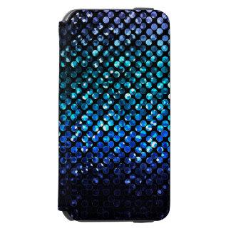 iPhone 6のウォレットケース青い水晶きらきら光るなStrass iPhone 6/6sウォレットケース