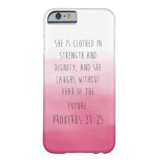 iPhone 6のグラデーションな諺31の場合 Barely There iPhone 6 ケース