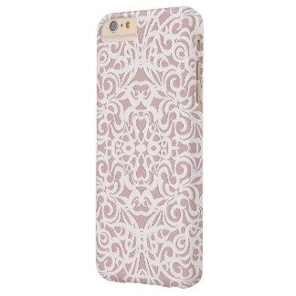 iPhone 6のプラスの場合の花柄の抽象芸術の背景 Barely There iPhone 6 Plus ケース