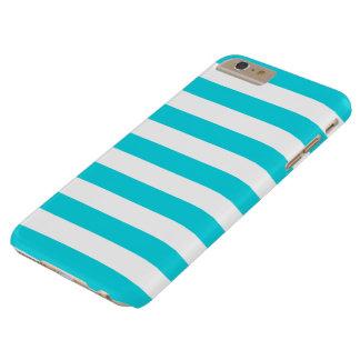 iPhone 6のプラスの場合-はっきりしたな水は縞で飾ります Barely There iPhone 6 Plus ケース