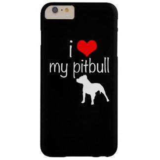 iPhone 6のプラスの場合- i愛私のピットブル Barely There iPhone 6 Plus ケース