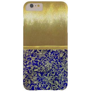 iPhone 6の細い貝の金ゴールドのデザインの場合 Barely There iPhone 6 Plus ケース