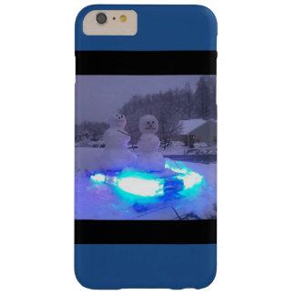 iphone 6プラスの場合の雪だるまの警察 barely there iPhone 6 plus ケース
