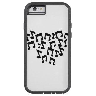 iPhone 6/6sの堅いXtreme音楽ノート iPhone 6 タフ・エクストリームケース