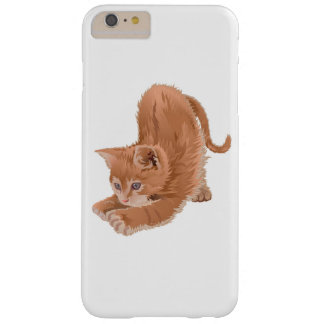 iPhone 6/6sの場合のためのCawaiiの漫画猫 Barely There iPhone 6 Plus ケース