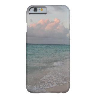 iPhone 6/6sの場合のトルコ人およびCaicosは海の海を浜に引き上げます Barely There iPhone 6 ケース