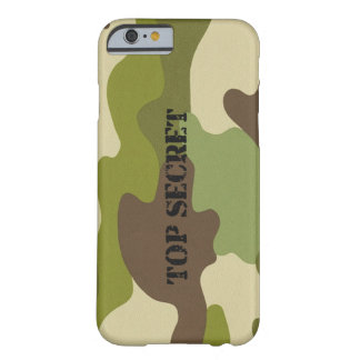 iPhone 6/6sの場合の極秘のカムフラージュの軍隊 Barely There iPhone 6 ケース