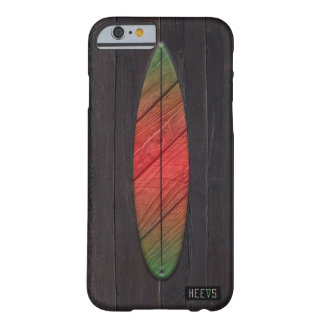 """iPhone 6/6Sの場合""""波板""""暗いHeevs™ Barely There iPhone 6 ケース"""