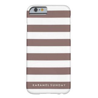 iPhone 6/6sの場合- KSの署名航海のなブラウン Barely There iPhone 6 ケース