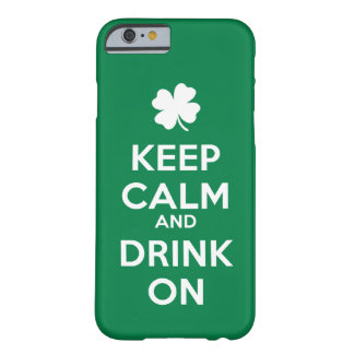 iPhone 6/6s St patricks dayの穏やかな飲み物を保って下さい Barely There iPhone 6 ケース