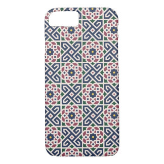 iPhone 7のためのモロッコの陶磁器パターン場合 iPhone 8/7ケース