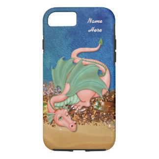 iPhone 7のための珊瑚のドラゴンのファンタジーの場合 iPhone 8/7ケース