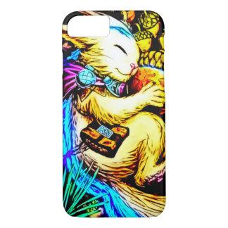 iPhone 7のやっとそこに日本製アニメの妖精の精神の森林フォーク iPhone 7ケース