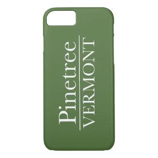 iPhone 7のやっとそこに- Pinetreeヴァーモント-緑 iPhone 8/7ケース