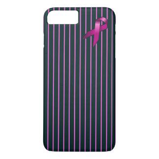 Iphone 7のプラスの乳癌の認識度の電話箱 iPhone 8 plus/7 plusケース