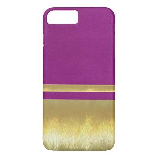iPhone 7のプラスの金ゴールドのデザインの場合 iPhone 8 Plus/7 Plusケース
