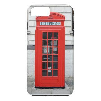 iPhone 7の場合のための赤い電話箱 iPhone 7 Plusケース