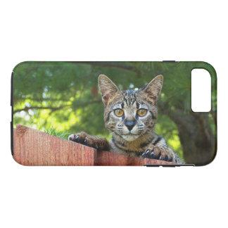 iPhone 7の場合のサバンナの子ネコと堅い穹窖 iPhone 8 Plus/7 Plusケース