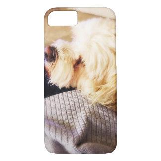 iPhone 7の場合動物犬 iPhone 8/7ケース