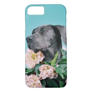 iPhone 7の場合-幸せな犬 iPhone 8/7ケース