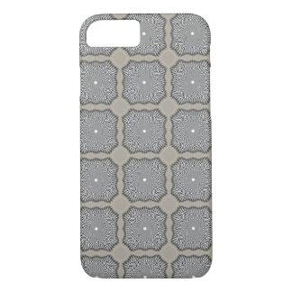 iPhone 7の場合-目の錯覚の灰色 iPhone 8/7ケース