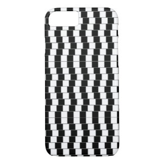 iPhone 7の場合-目の錯覚黒いか白2 iPhone 8/7ケース