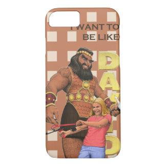 iPhone 7の場合-私はデイヴィッドのようでありたいと思います-女性 iPhone 8/7ケース