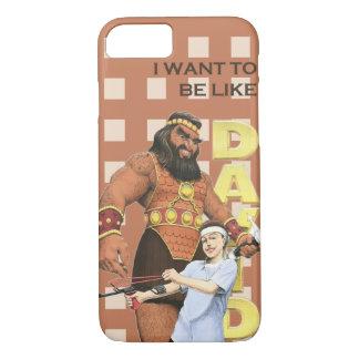 iPhone 7の場合-私はデイヴィッドのようでありたいと思います-男性 iPhone 8/7ケース