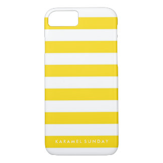 iPhone 7の場合- KSの署名の航海のな黄色 iPhone 7ケース