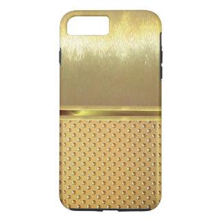 iPhone 7の細い貝の金ゴールドのデザインの場合 iPhone 8 Plus/7 Plusケース