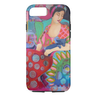 iPhone 7の電話箱のボヘミアの美しいのファインアート iPhone 8/7ケース