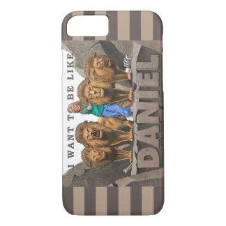 iPhone 7カバー-私はダニエルのようでありたいと思います-女の子 iPhone 8/7ケース