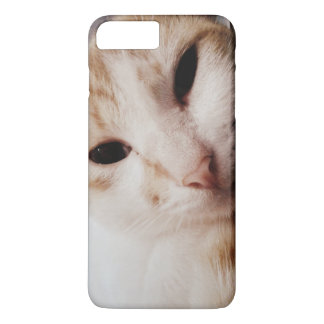 iPhone 7プラス猫の例 iPhone 8 Plus/7 Plusケース