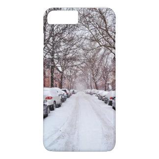 iPhone 7冬の雪の箱 iPhone 8 Plus/7 Plusケース
