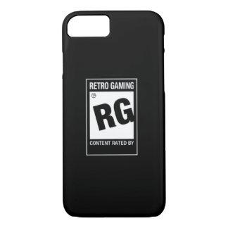 iPhone 7 -レトロの賭博の場合のための評価されるRG iPhone 8/7ケース