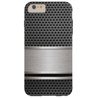 iPhone、iPad、SG3,4,5のMotorolaケースカーボン鋼鉄 Tough iPhone 6 Plus ケース