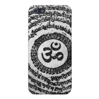 iphone、omマニのpadmeのハム雑音、ヒンズー教信念 iPhone SE/5/5sケース