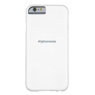 #iphonesia barely there iPhone 6 ケース