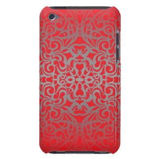 iPodの箱の花柄の抽象芸術の背景 Case-Mate iPod Touch ケース