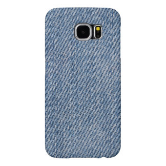 IPodの箱を見る青いデニム Samsung Galaxy S6 ケース
