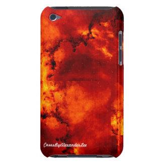 iPodの赤い星雲の箱 Case-Mate iPod Touch ケース