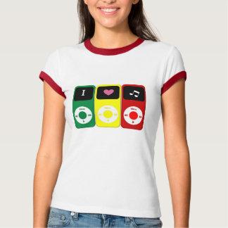 IPodの音楽愛好者 Tシャツ