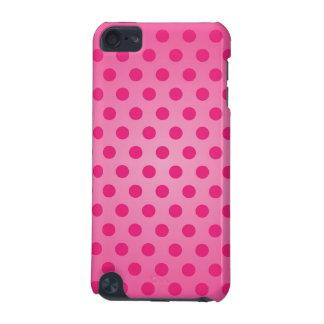 iPod Speckの箱のピンクの水玉模様 iPod Touch 5G ケース
