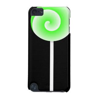 Ipod touchのための棒つきキャンデーの箱(ライム) iPod touch 5G ケース