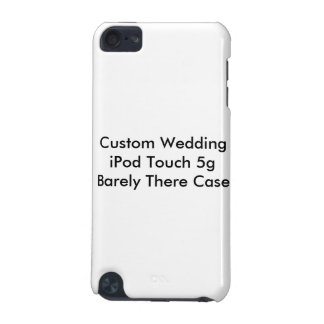 ipod touchカスタムな結婚の5gのやっとそこに場合 iPod touch 5G ケース
