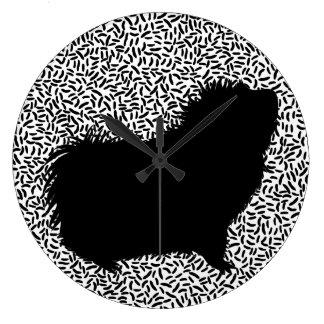 iPoop ラージ壁時計