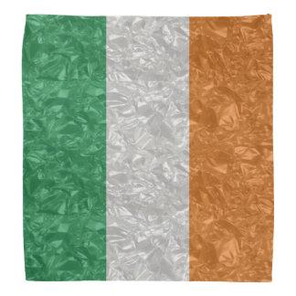 Ireland Flag - Crinkled バンダナ