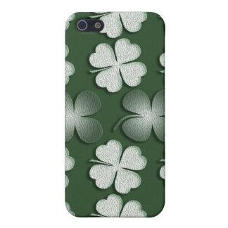 Irelandsの最も幸運なクローバー-言葉遣いを加えて下さい iPhone 5 ケース